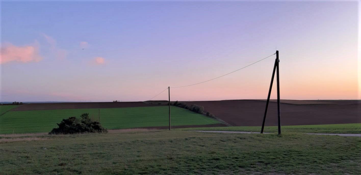 ... und ein wunderschöner Sonnenuntergang im Herbst am Stieberberg!