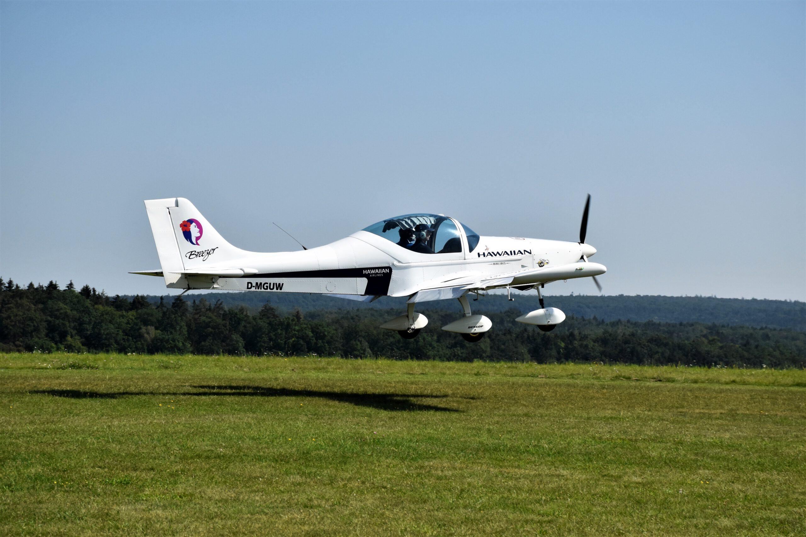 Unser erstes Ultraleichtflugzeug